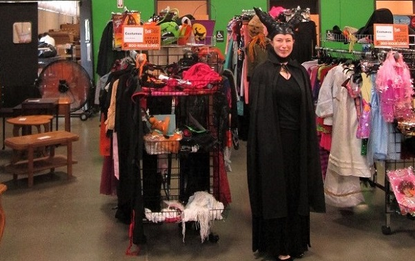 Looking for costumes on the cheap? Check out Goodwill's Bootiques
