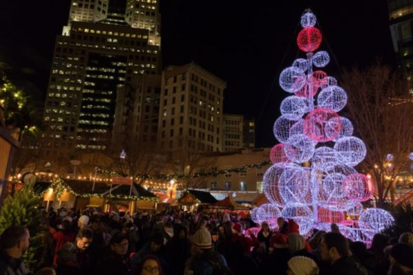 holidays downtown