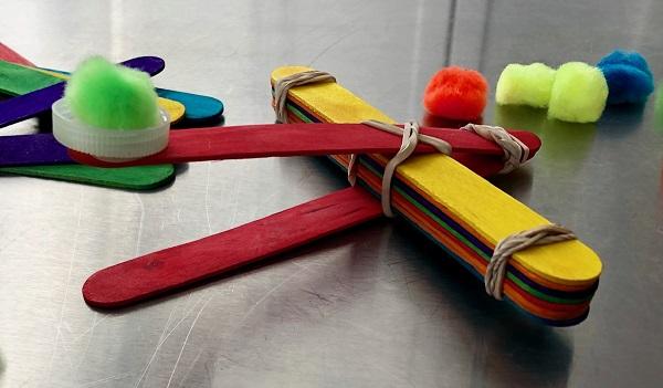 Maker Monday: Pompom Catapult