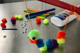 Maker Monday: Hungry Caterpillar Puppet