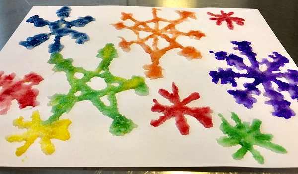 Maker Monday: Salt Painting