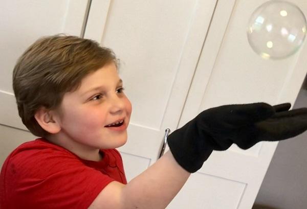 Maker Monday: Bouncing Bubbles