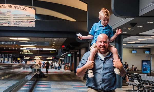 Worried about flying with sensory-challenged kids? Check out the calming effect of Presley's Place at the Pittsburgh Airport