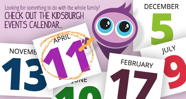 New and improved: Our Kidsburgh events calendar is updated with virtual activities