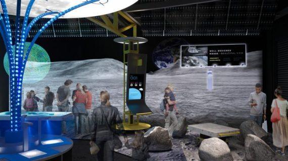 Moonshot Museum rendering courtesy of Astrobotic
