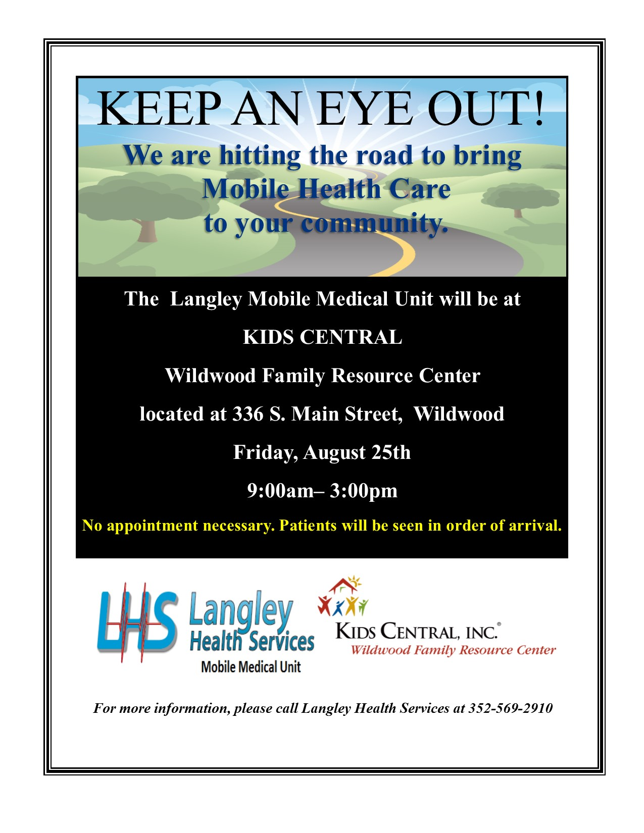 Wildwood Family Resource Center- Langley Medical Mobile ...