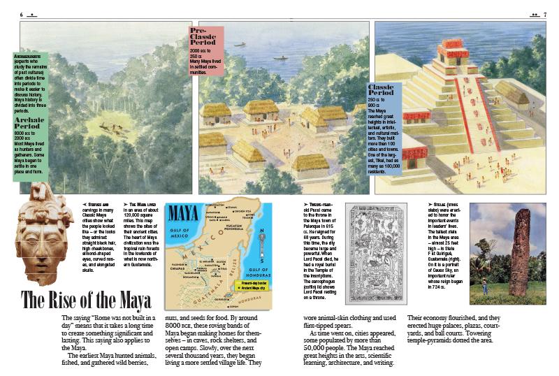 Olmec And Maya