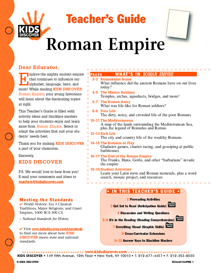 Rom N Empire Kids Discover