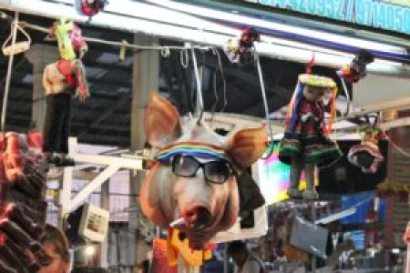 Cusco Pig in Market