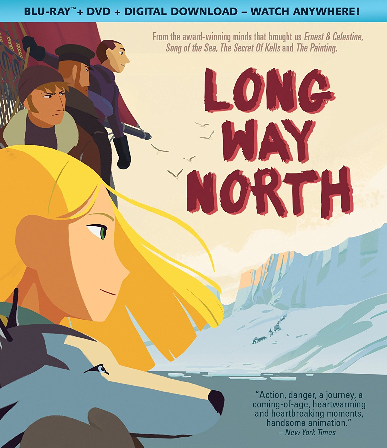 Kids First News Blog Archive Long Way North Truly A Work Of Art With Hand Drawn Animation And A Wonderful Adventure With Characters From Another Culture