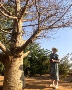 Patricia under the Tree