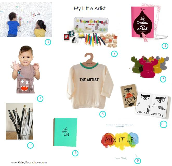 My little artist xmas gift guide 2014 KGT final
