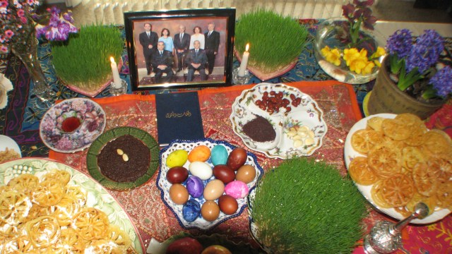 Wishing the Baha'is of Iran a most happy Naw-Ruz specially to our Haft Shir (YARAN) in prison