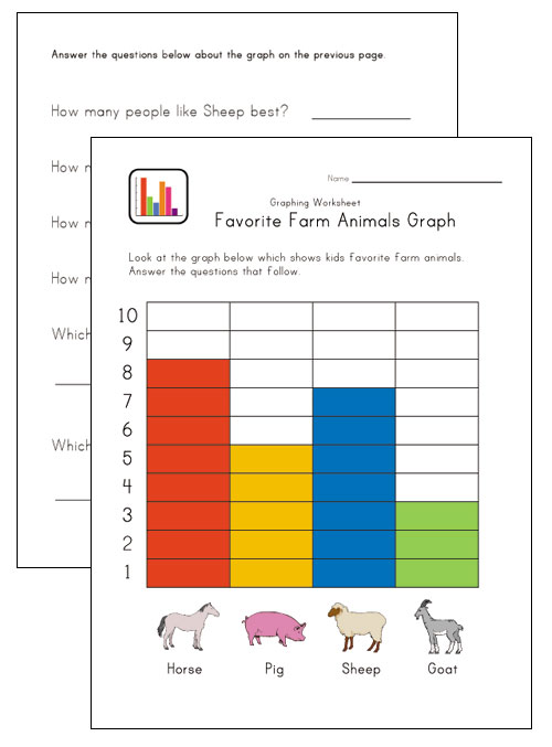 Number names worksheets easy graph worksheets free for Block graph template