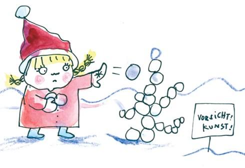 Spielideen für den Winter , forsichtkunst-copy Andrea König