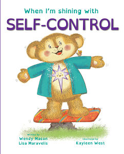 Children's Book Series Kids Light Up Self Control Book Cover
