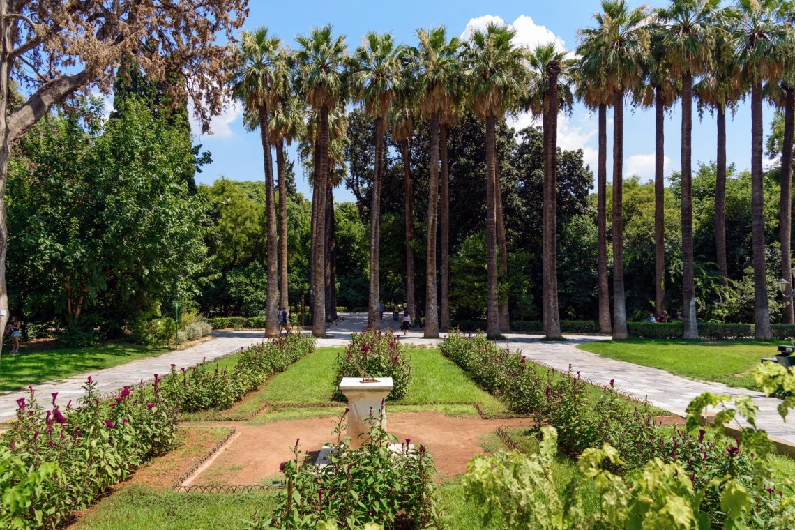 National garden Athens
