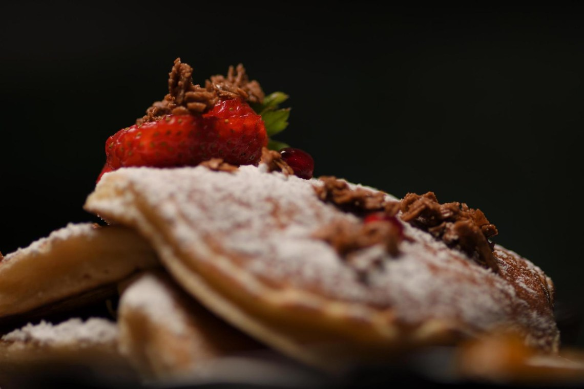 pancakes for breakfast or all day bruch at Central