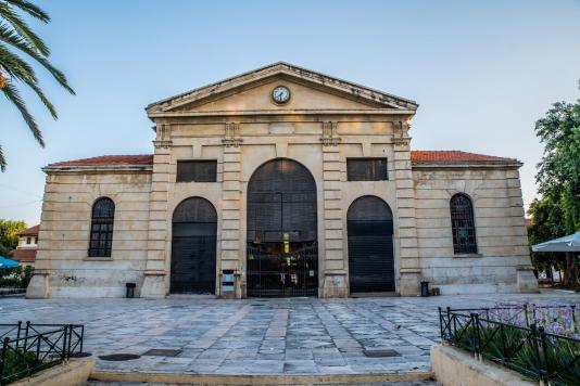 Market building Chania town