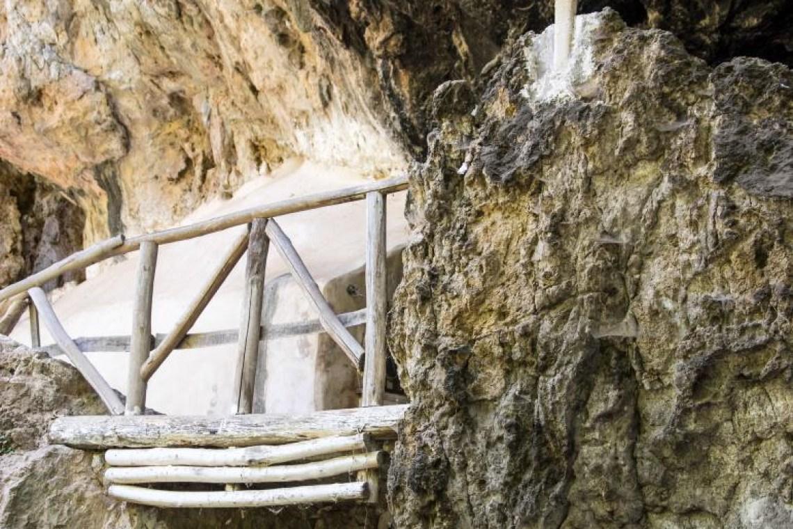 saint Antonios chapel build in cave Rethymno