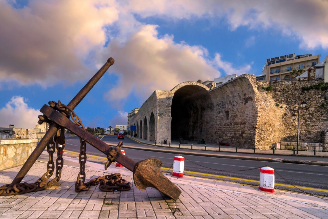 arsenal Heraklion port anchor