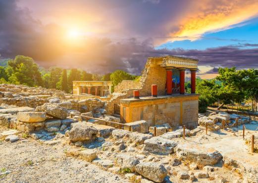 Knossos palace wonder