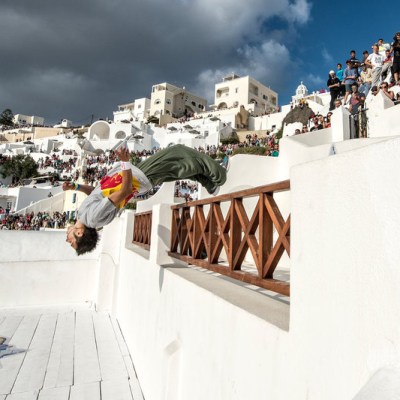 Red Bull Art of Motion in Santorini