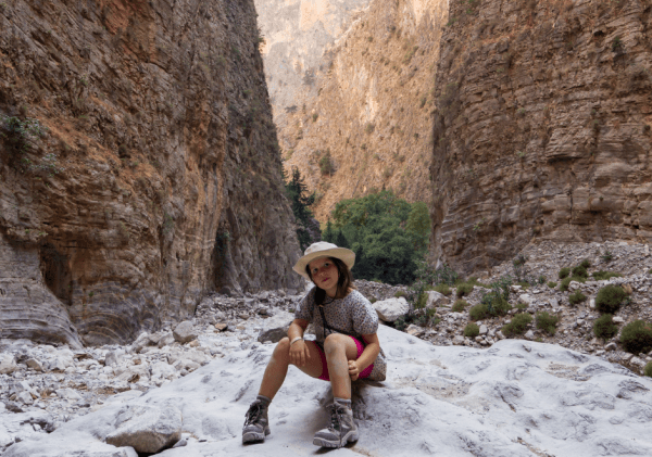 Samaria Gorge with Kids: Take the challenge!