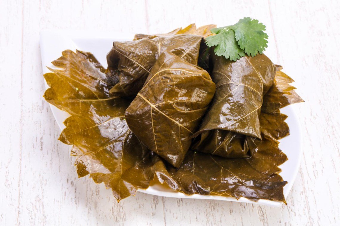 Dolmadakia-stuffed-vineleaves-greek-food