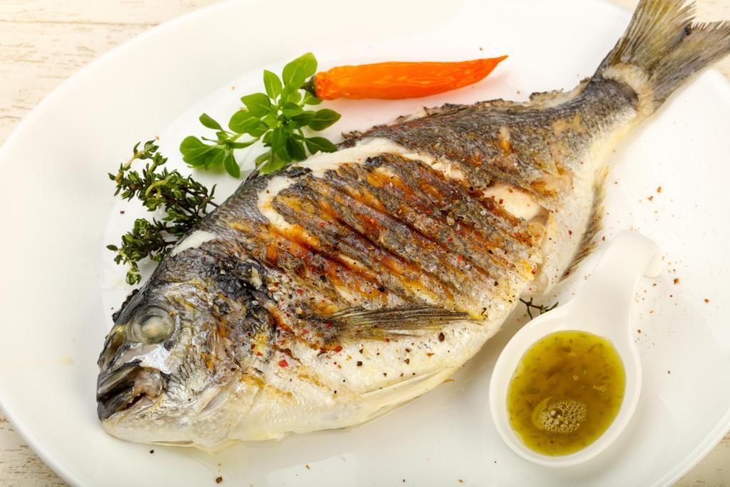 grilled fish greek food