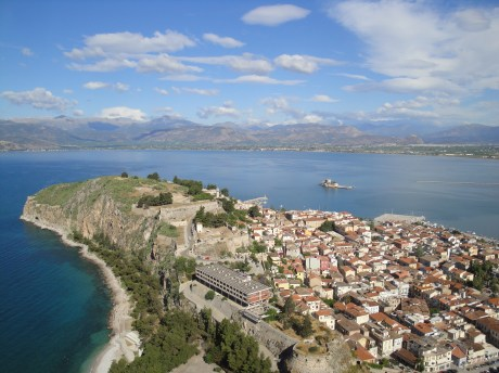 Nafplio (view from 999 steps to Palamidi)