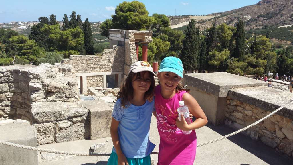 11-day family vacation package in Greece crete heraklion kids love greece holiday packages for families knossos palace