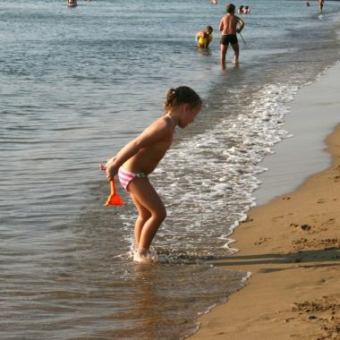 What is the best Greek island for families with young kids?