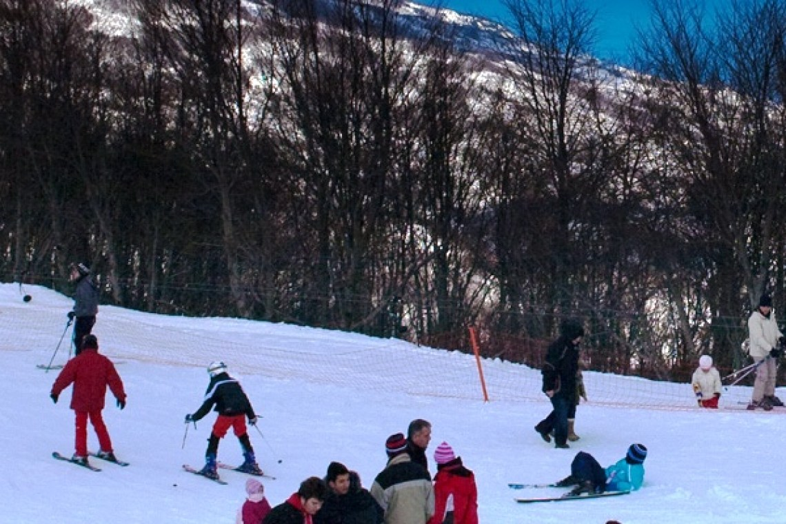 Pelion ski center activity for families KidsLoveGreece.com