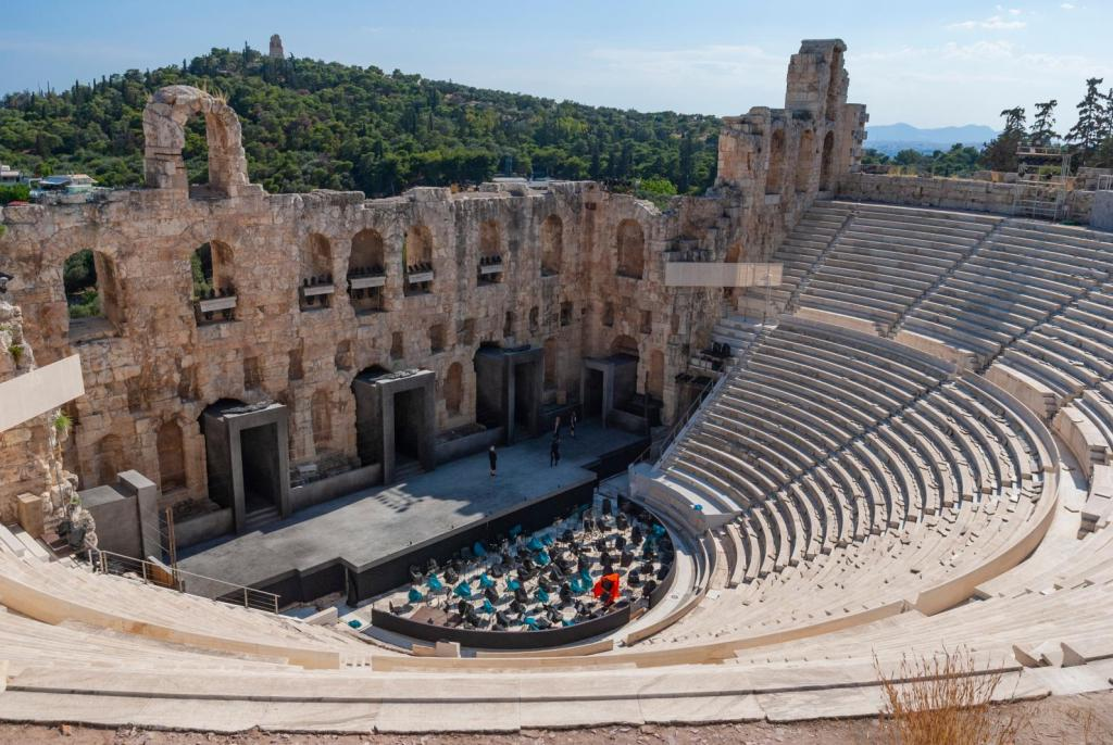 Herodion Atticus odeon Athens