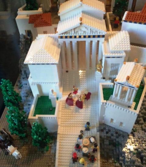 Acropolis lego details