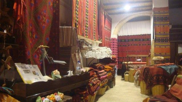 Traditional Cretan weaving