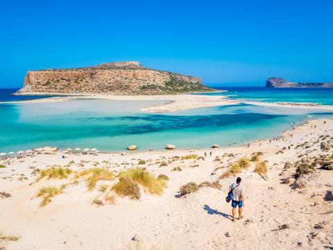 Balos beach Chania