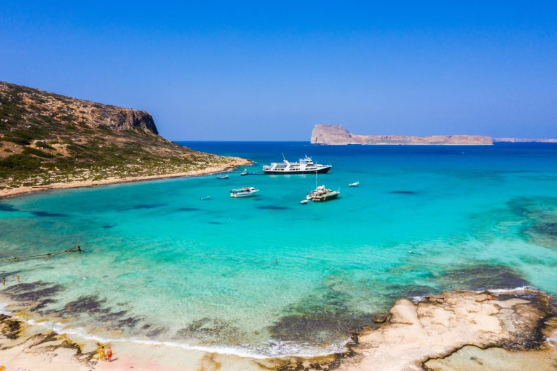 Cruise in Gramvousa and Balos by Ferry