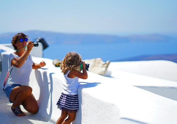 Santorini for kids