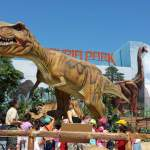 Dinosauria park in Heraklion visit for families