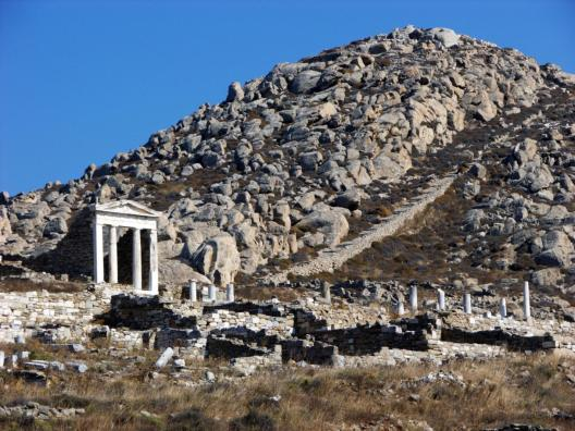 Delos archeological site