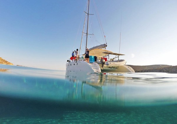 Private Family Sailing Trip from Mykonos