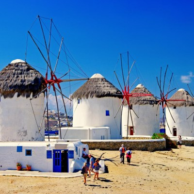 Explore Mykonos Town with your Family