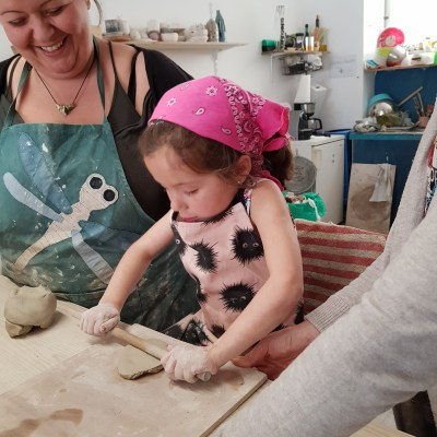 Private Pottery workshop for Families
