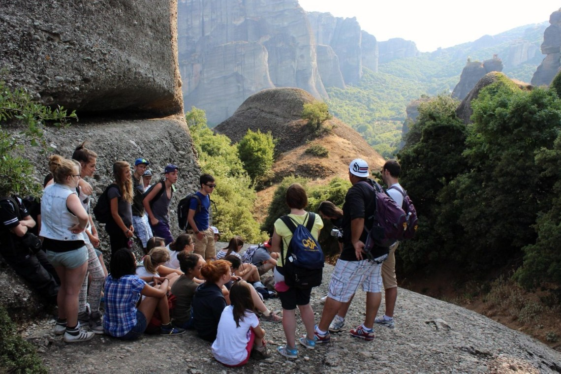 meteora family hiking group tour Greece Thessaly kidslovegreece locals experts