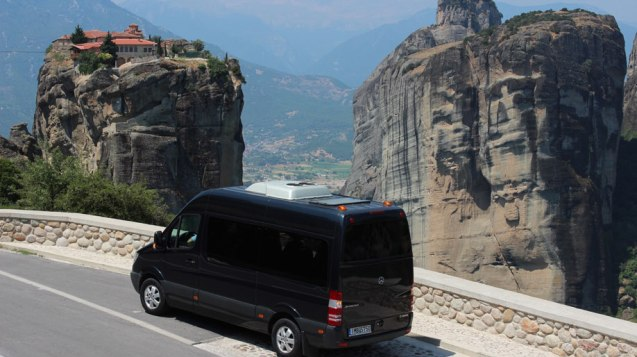 Sunset tour in Meteora