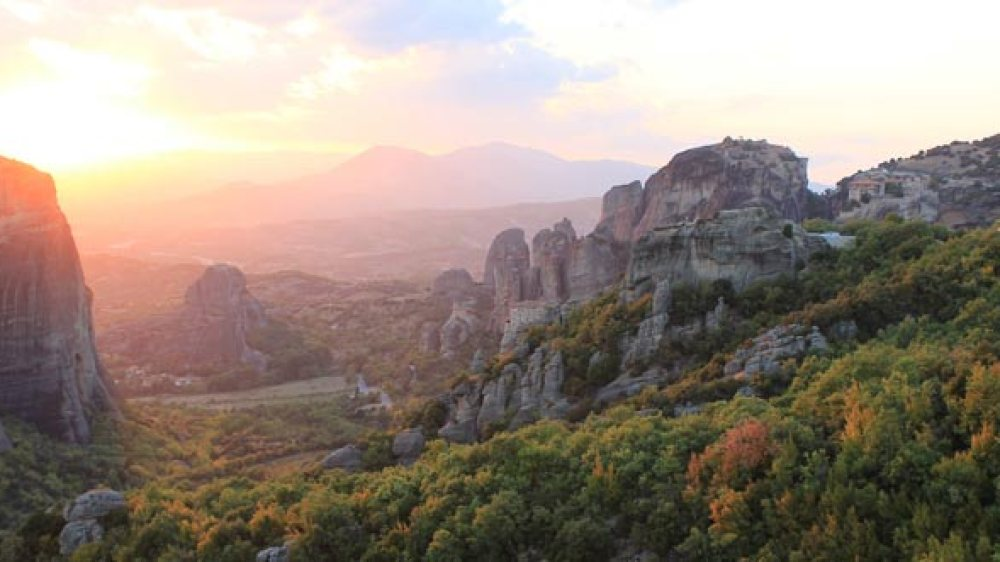 Sunset tour in Meteora