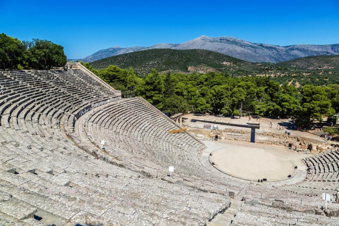 Epidavros ancient theater