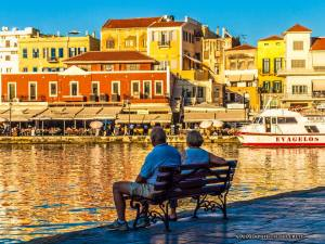 Chania Crete family walking group morning tour kidslovegreece